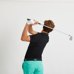 Golfpolo voor heren Light zwart