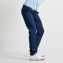 Golfbroek voor heren blauw