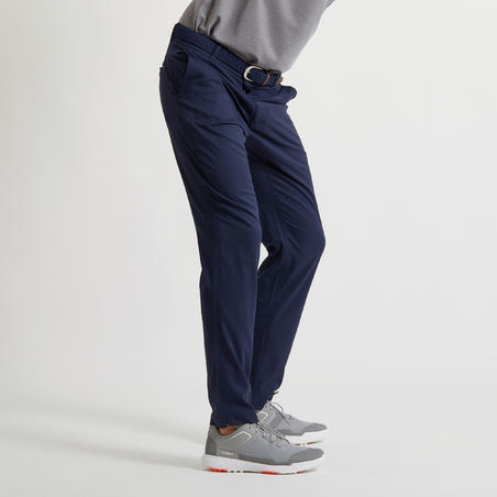 MEN'S BREATHABLE GOLF TROUSERS - NAVY