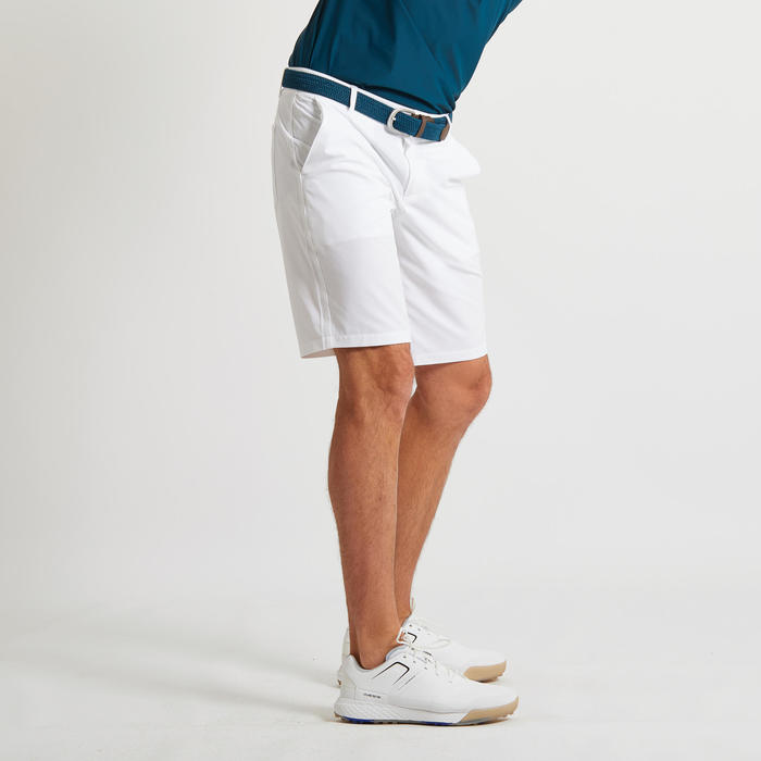 SHORT DE GOLF ULTRALIGHT HOMME BLANC