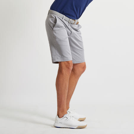 SHORT GOLF HOMME GRIS