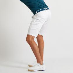 男款溫和氣候高爾夫短褲-白色