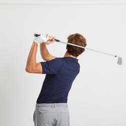 男款溫暖天候高爾夫POLO衫-軍藍色