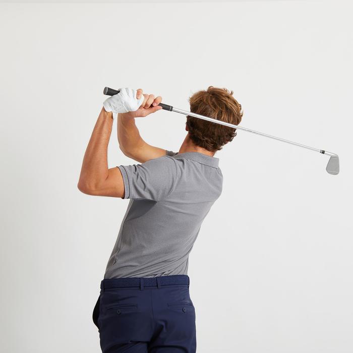 Golfpolo voor heren Light grijs