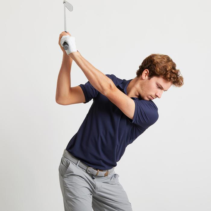 Golfpolo voor heren Light marineblauw