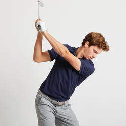 Men's Golf Light Polo Shirt - Navy Blue
