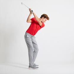 Golfpolo voor heren Light felrood