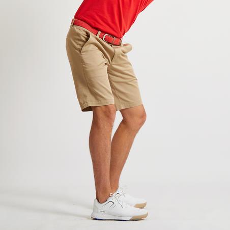 Men's Golf Shorts - Beige