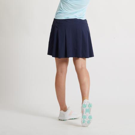 Falda-Short Corto Golf Mujer Azul Marino