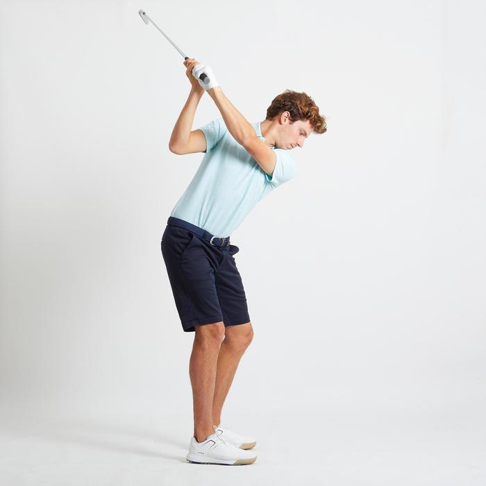 男款溫和氣候高爾夫短褲-軍藍色