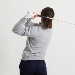 PULL COUPE VENT DE GOLF FEMME TEMPS TEMPERE GRIS
