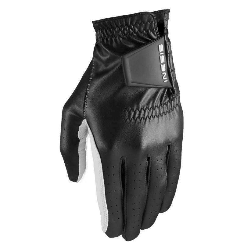 Men's golf soft right-handed glove black