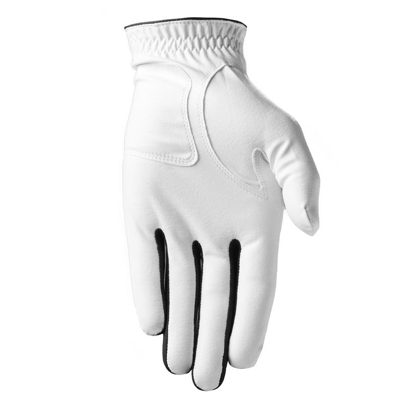Men's golf hight-handed WW glove white