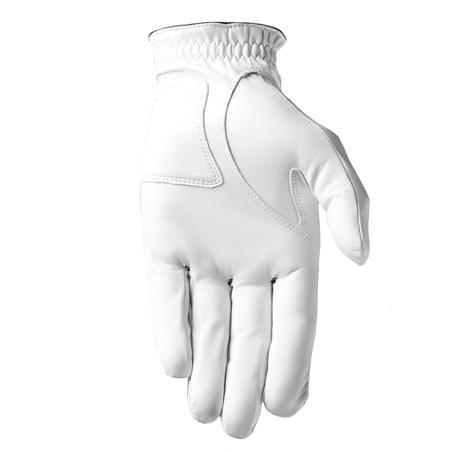 Guante Golf Soft Hombre Blanco Diestro