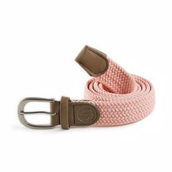 Rekbare riem voor golf volwassenen roze maat 1