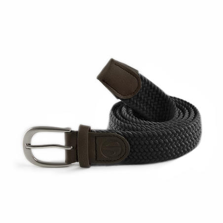 Adult Golf Stretch Belt - Black Size 2