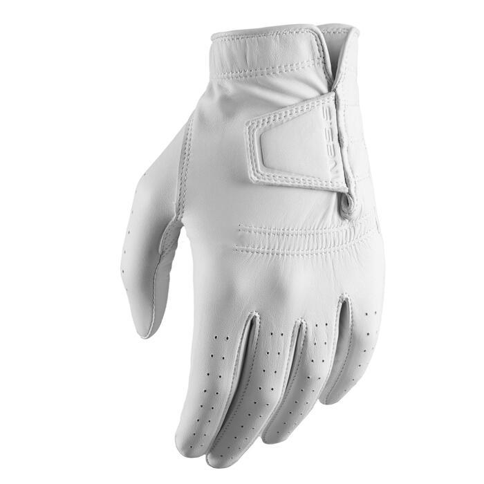 Golfhandschoen voor dames Tour rechtshandig wit
