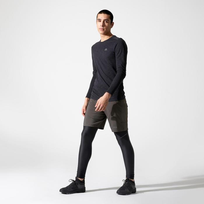 Hardloopshirt met lange mouwen Run Dry+ Zwart
