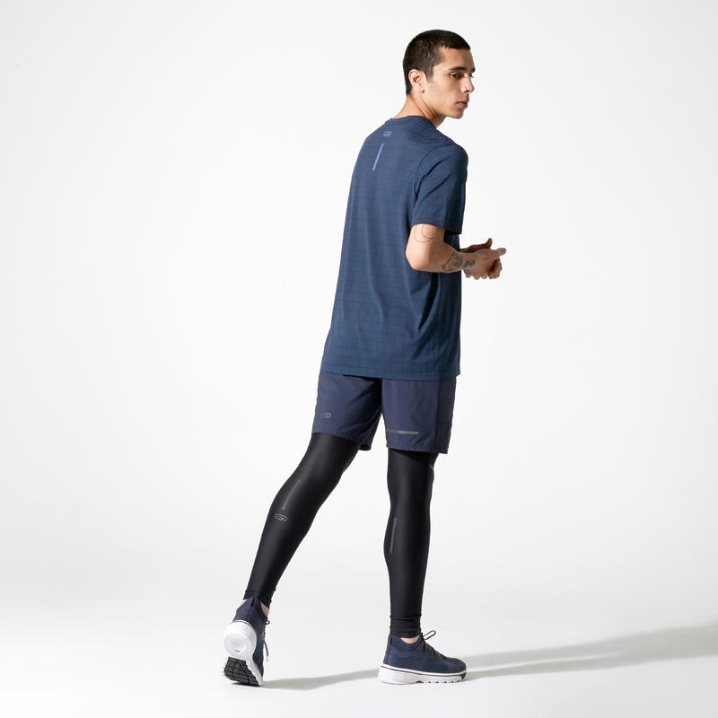 Collant Run Dry+ Homme noir