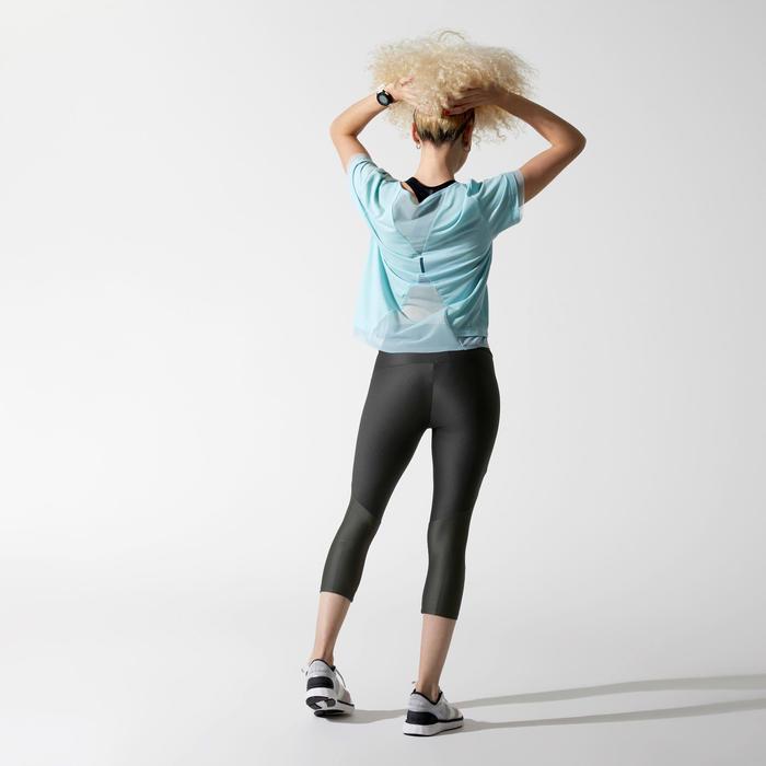 Hardloopshirt voor dames Run Feel blauw/turkoois