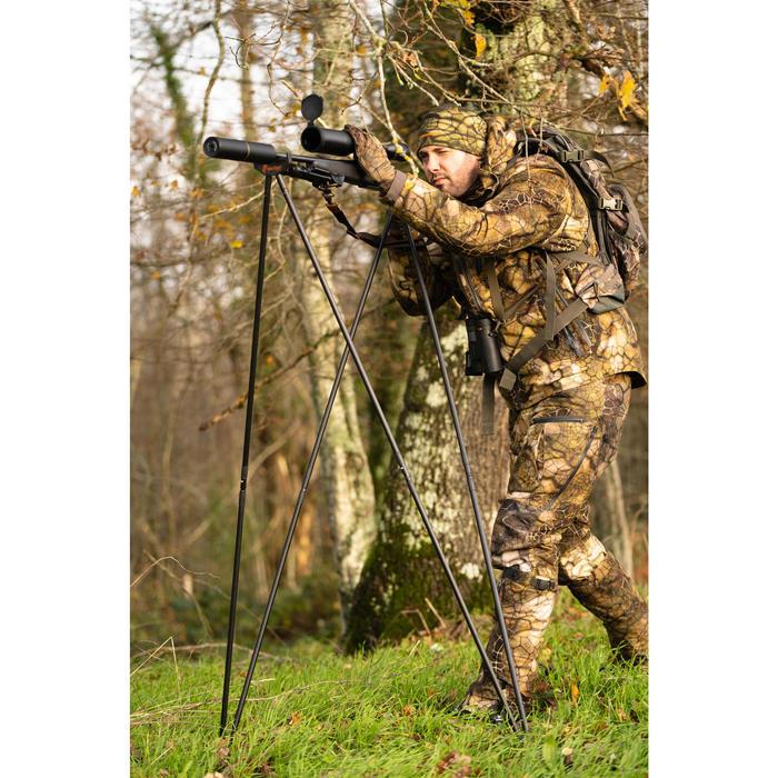 Bastón Apoya Rifle Tunet de Pirsch 4 Puntos Ligero Estable