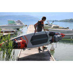 SAC A DOS ETANCHE IPX7 CONVERTIBLE 120 40 STAND UP PADDLE GRIS