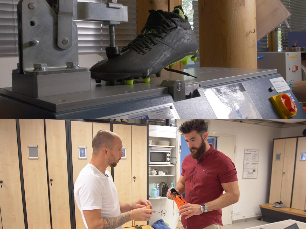 Test-chaussures