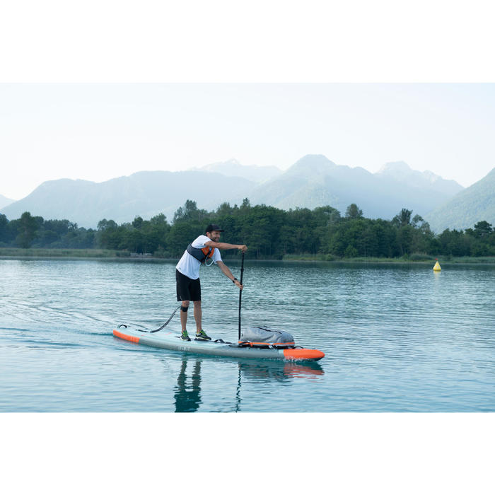 "STAND UP PADDLE GONFLABLE RANDONNÉE X500 / 13""-31'VERT"