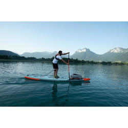 PAGAIE STAND UP PADDLE 500 TUBE CARBON FIBRE DE VERRE REGLABLE 170-210 CM - L
