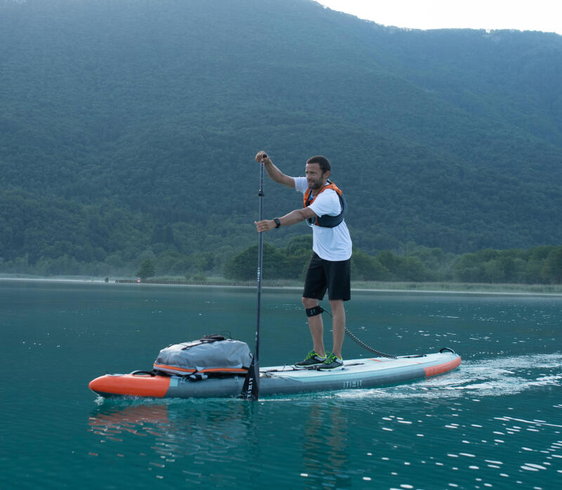 stand up paddle emmener affaires