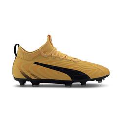 Voetbalschoenen ONE 5.1 evoKNIT FG geel/zwart/wit