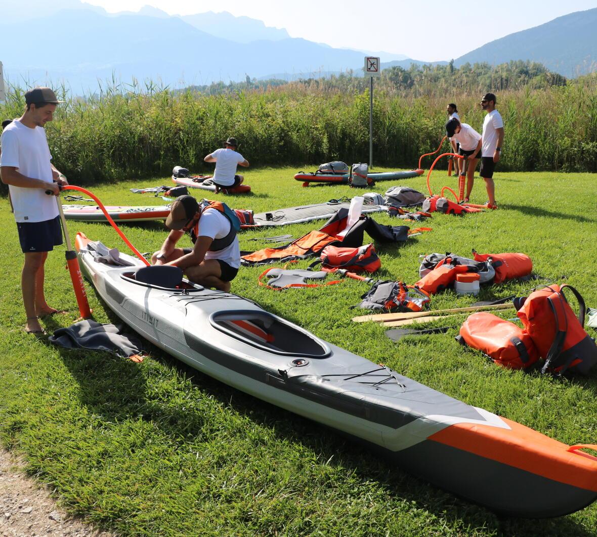 kayak trip checklist