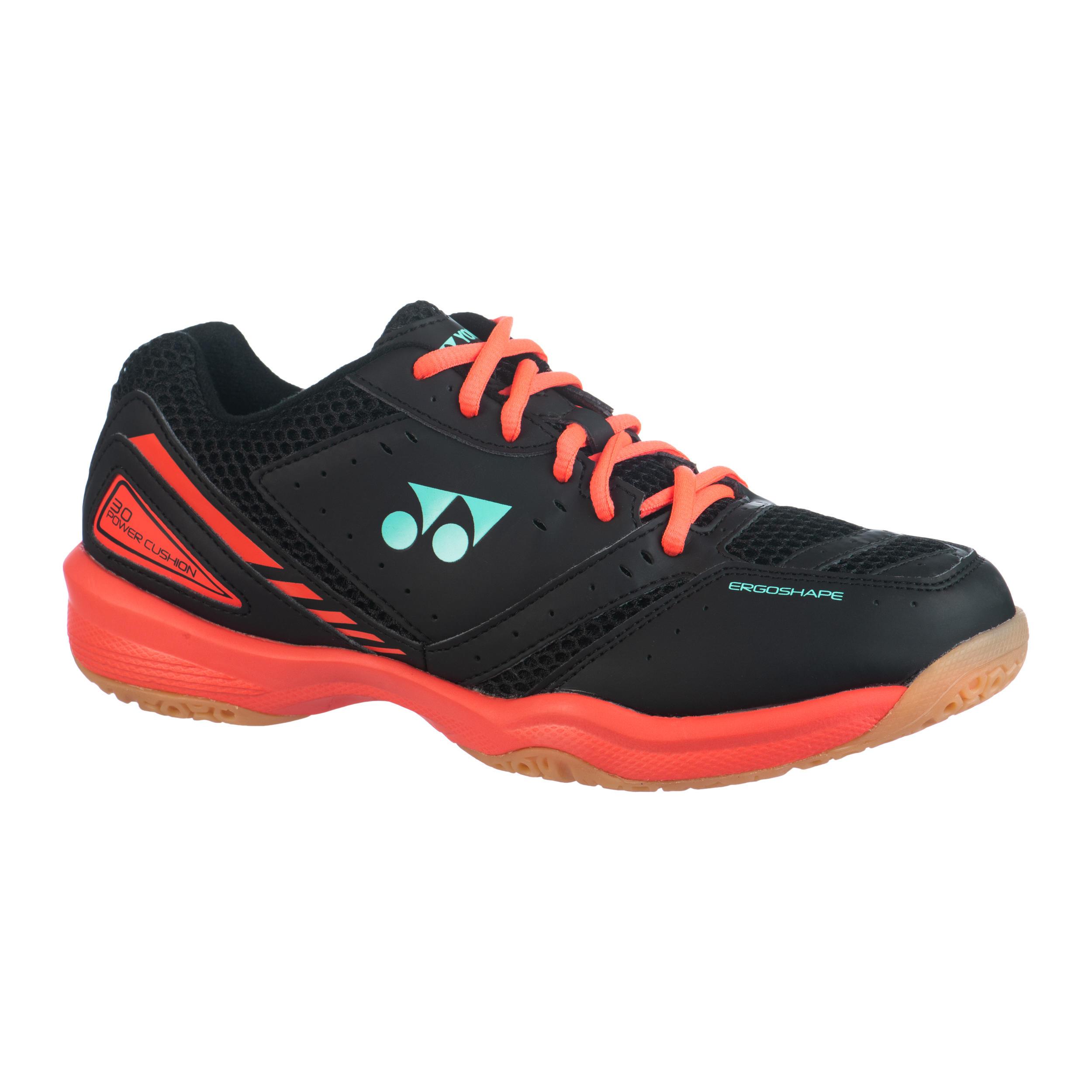 Chaussure de Badminton, Squash, Sport indoor Power Cushion 30 Noir / Rouge - Yonex
