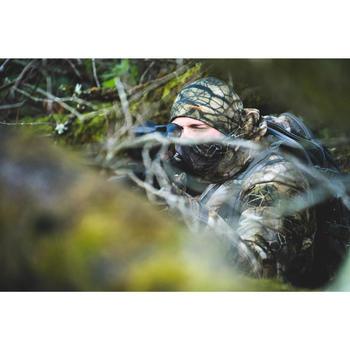 Bonnet Chasse Chaud Respirant Merinos 900 camouflage Furtiv