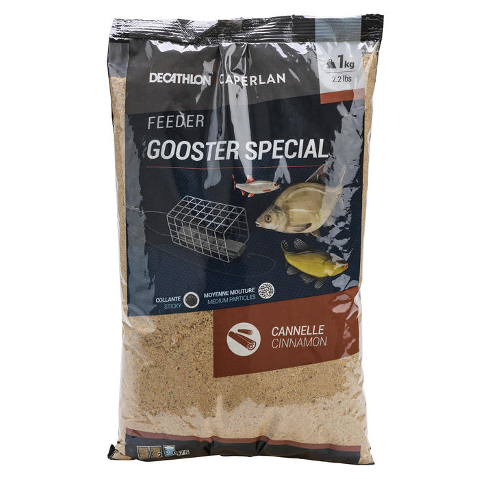 AMORCE GOOSTER SPECIAL TOUS POISSONS FEEDER 1KG