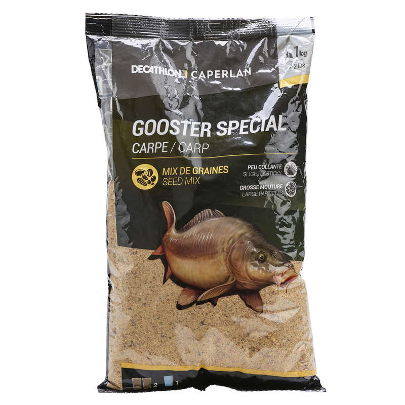 FISHING BAIT, ADDITIVES Fishing - GOOSTER SPECIAL CARP 1kg CAPERLAN - Coarse and Match Fishing