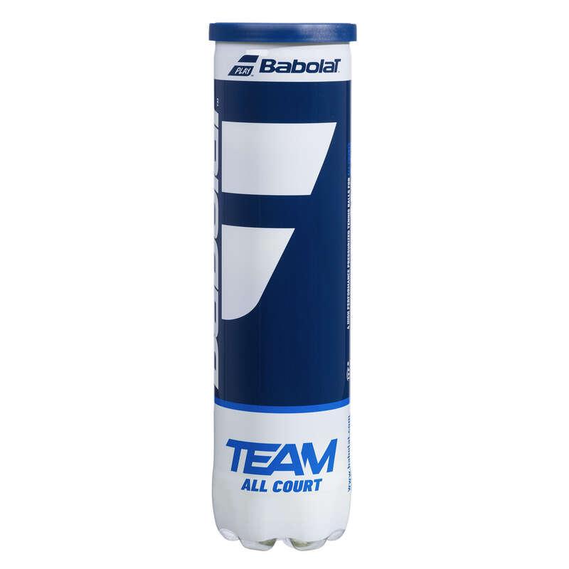 TENNIS BALLS Tennis - Team All-Court 4-Pack BABOLAT - Tennis Accessories