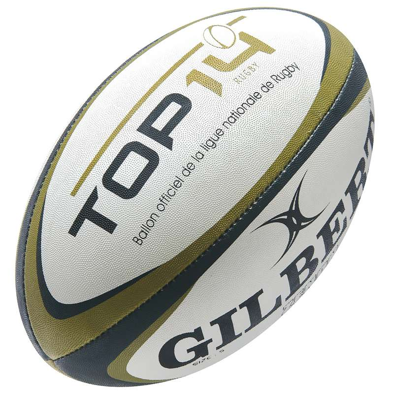 BALLS & ACCESSORIES Rugby - Ball Top 14 GILBERT - Rugby