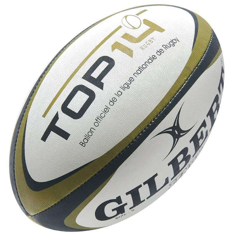 MÍČE A DOPLŇKY Ragby - MÍČ GILBERT TOP 14  GILBERT - Ragbyové míče a doplňky