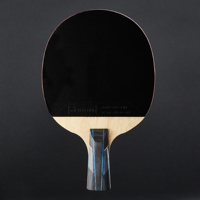 俱樂部乒乓球拍+球拍套TTR 930 Spin C-Pen