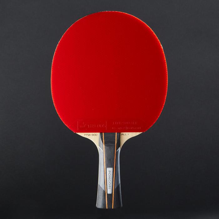 桌球拍+桌球拍套TTR 930 All+