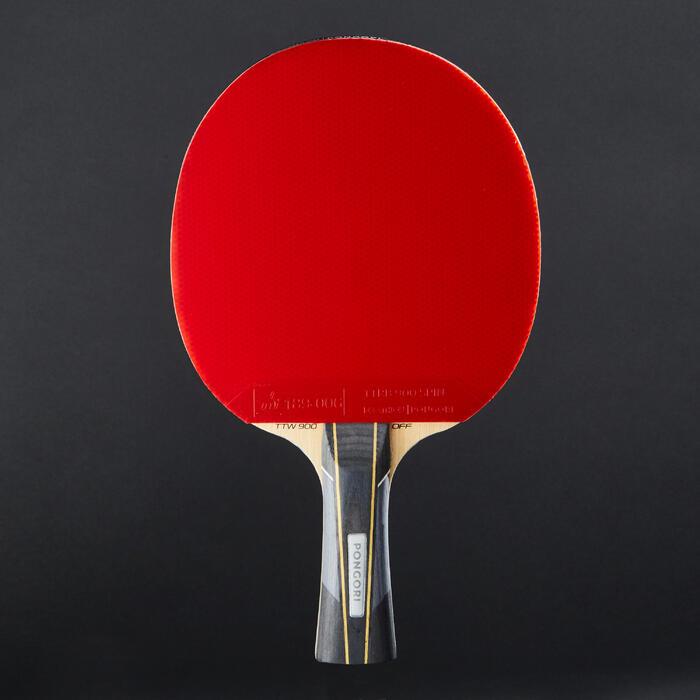 社團用桌球拍TTR 960 Spin(附拍套)