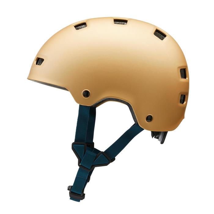 Casque roller skateboard trottinette MF540 Urban Gold