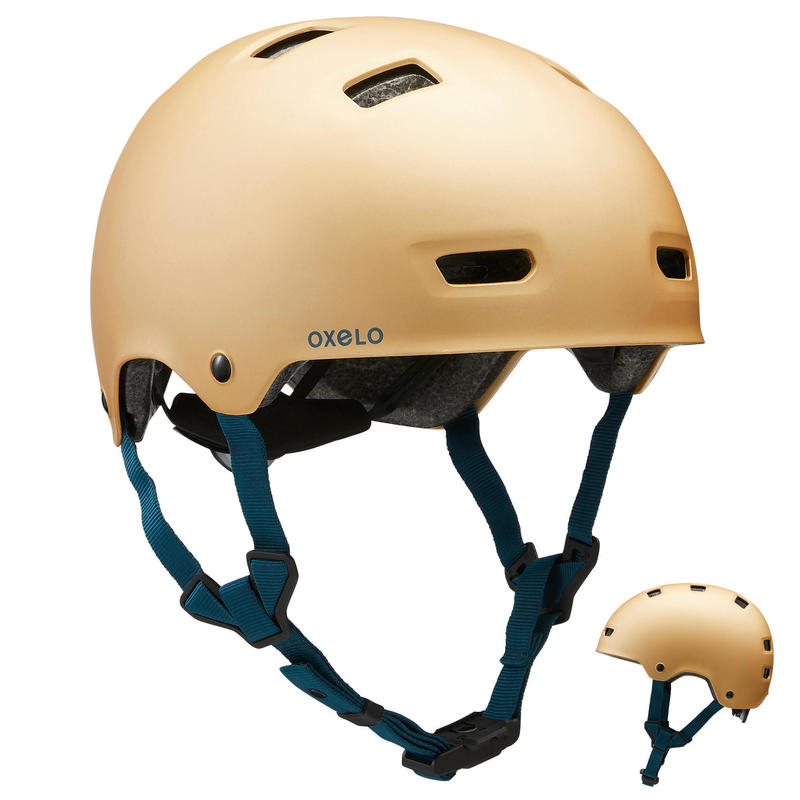 Inline Skating Skateboarding Scootering Helmet MF540 - Urban Gold