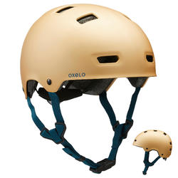 Helm voor skeeleren skateboarden steppen MF540 Urban Gold
