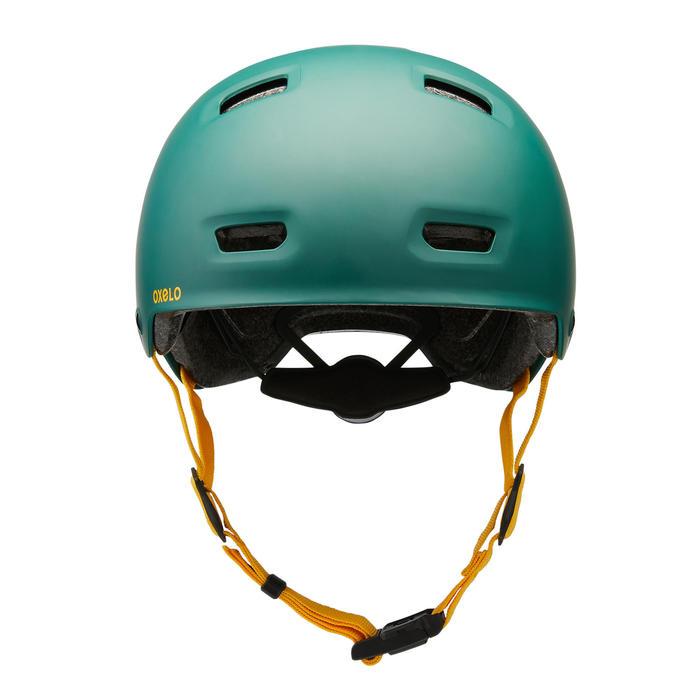 Helm voor skeeleren skateboarden steppen MF540 Urban Green