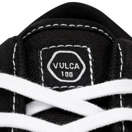 "Pieaugušo zemie skeitborda, longborda apavi ""Vulca 100"", melni/balti"