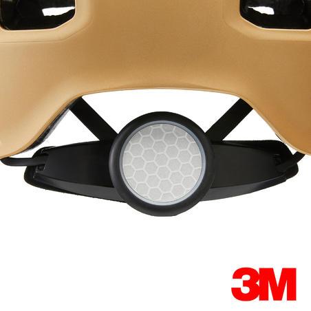 קסדה להחלקה על רולרבליידס, סקייטבורד וקורקינט דגם MF540 - זהב אורבני