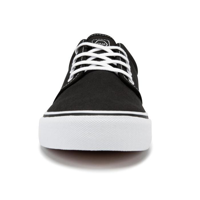 Adult Low-Top Skateboarding Longboarding Shoes Vulca 100 - Black/White