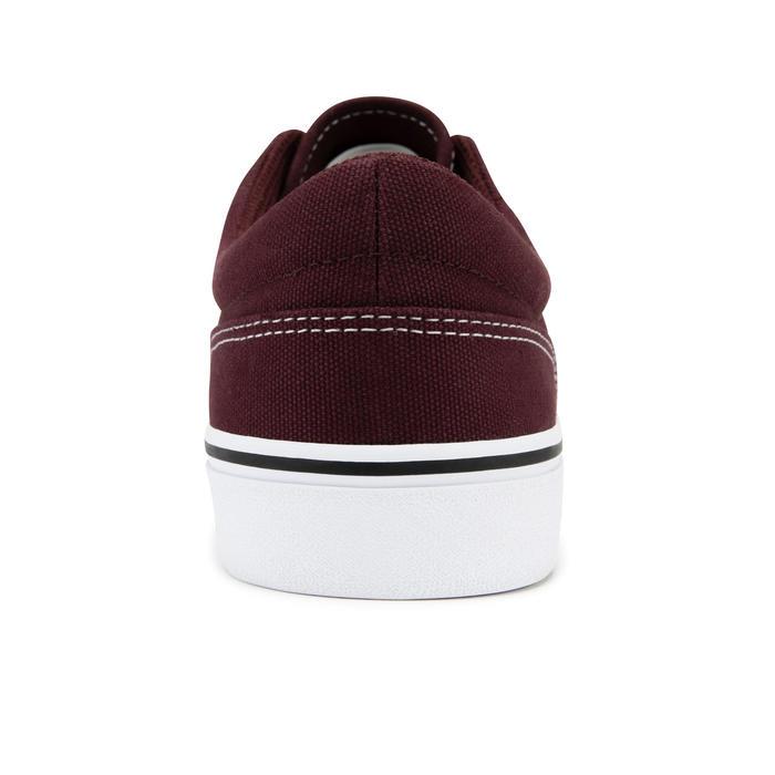 Lage skateschoenen voor volwassenen Vulca 100 bordeaux/wit